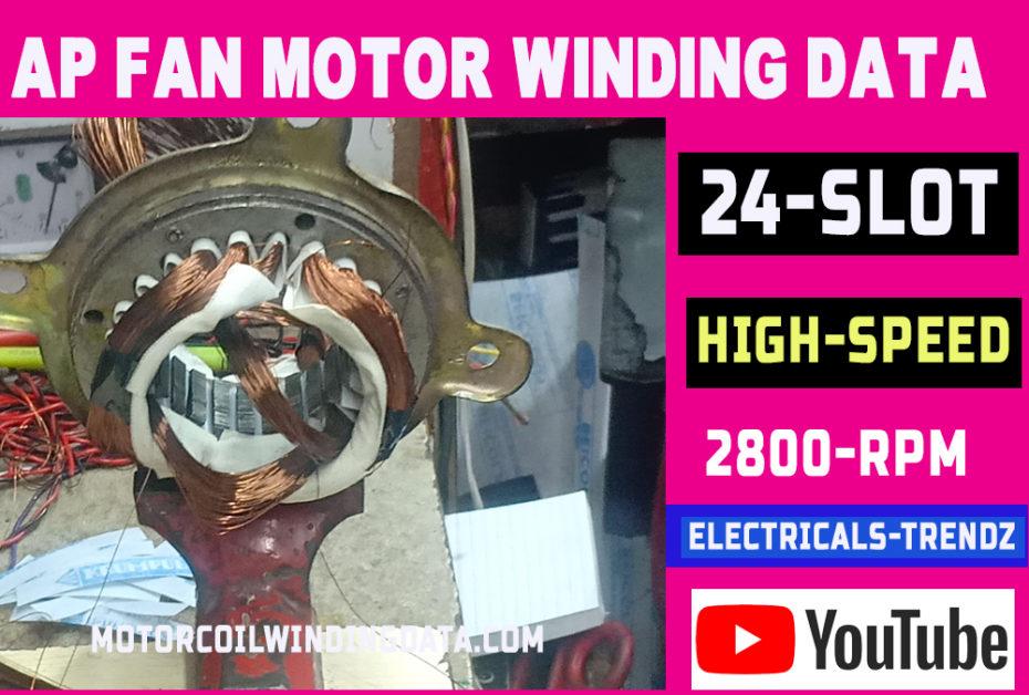 Ap Fan Motor Rewinding