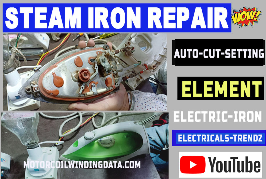 how to repair electric iron thermostat