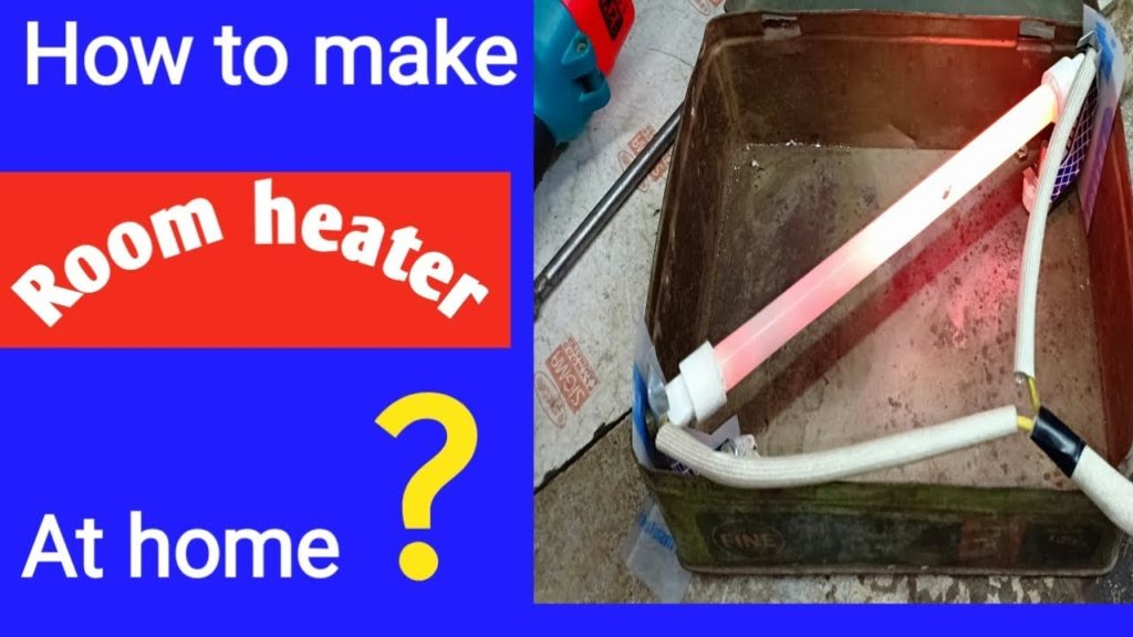 how to make room heater at home | Room+Heater