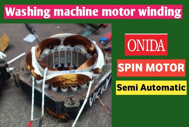washing machine winding data