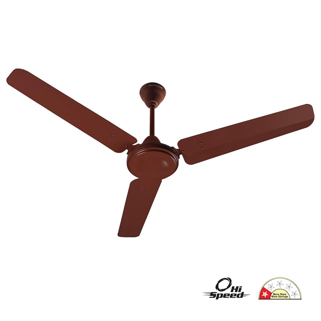 Best ceiling fan in india Crompton HS Plus 48-inch Power Saver High Speed Ceiling Fan (Brown)