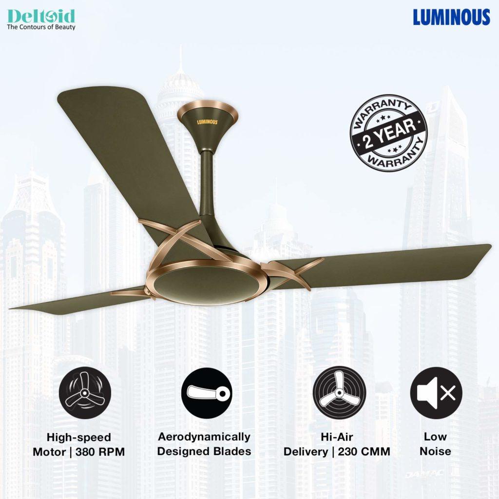 Best Ceiling Fans In India 2020 motorcoilwindingdata.com Luminous Deco Premium Deltoid 1200mm Ceiling Fan best-ceiling-fans-in-india-2020-expert-review-buying-guide-motor-coil-winding-data-motorcoilwindingdata.com
