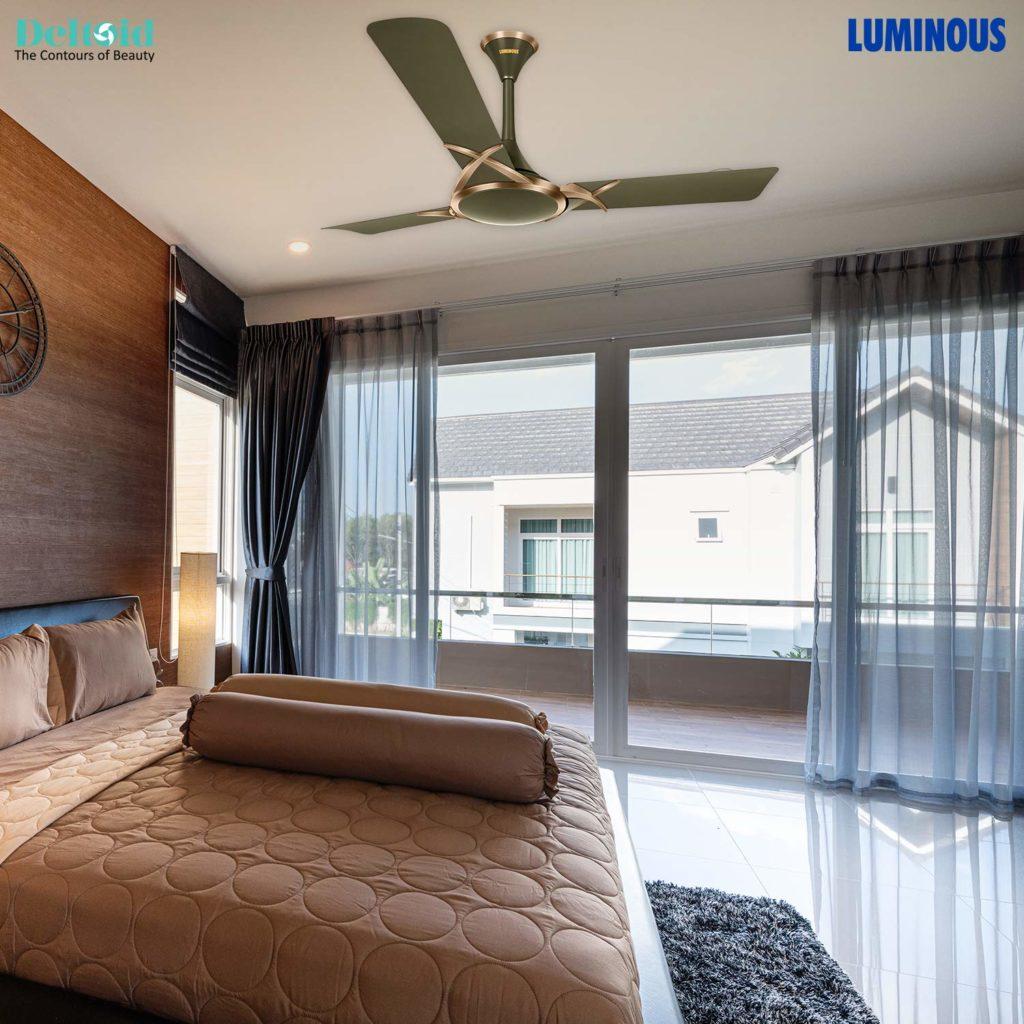 Luminous Deco Premium Deltoid 1200mm Ceiling Fan
