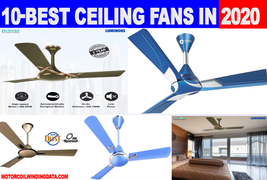 best ceiling fans in india 2020-motorcoilwindingdata.com