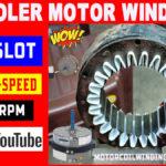 cooler motor winding
