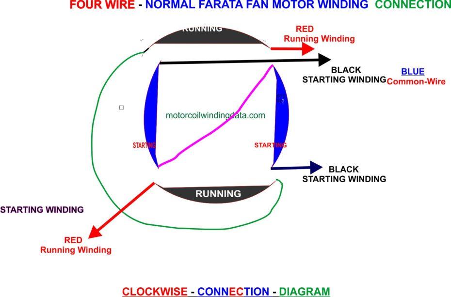 Farata Fan Wiring Diagram..Farata Fan Motor Connection Diagram.motorcoilwindingdata.com