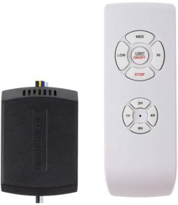 ceiling fan remote connection connection