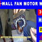 High Speed Wall Fan Winding With Three Speed data | Three Speed Wall Fan Connection. | 6 wire fan motor wiring diagram.MOTORCOILWINDINGDATA.COM