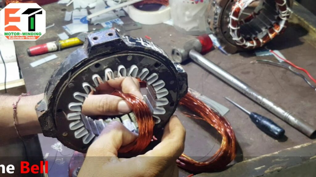 Single speed cooler motor winding  4 wire cooler motor connection diagram
