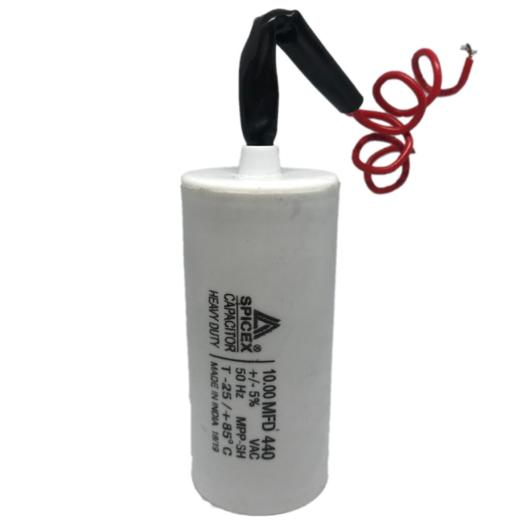 0.5 Hp Water Pump Capacitor Value.