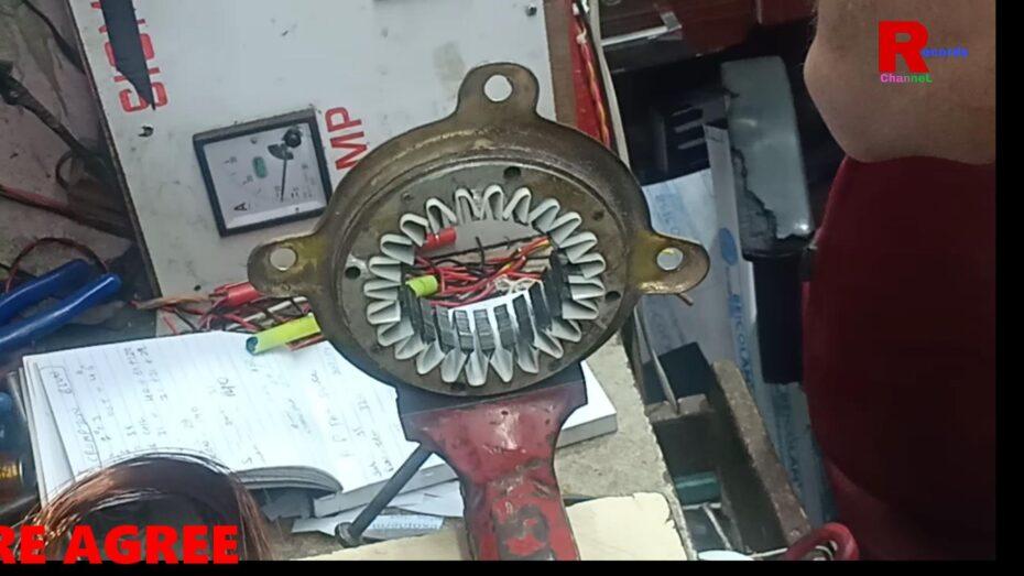 How To Rewind Ap Fan Motor?