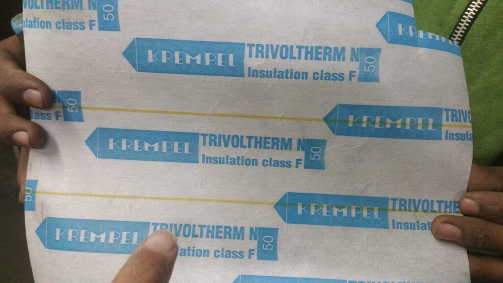 washing machine winding insulation paper