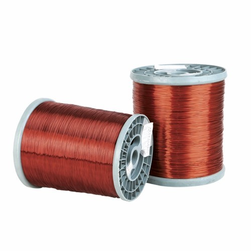 Which wire is used in motor winding?
