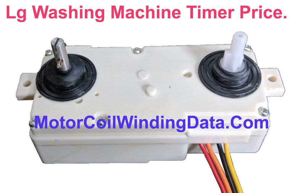 Lg Washing Machine Timer Price.