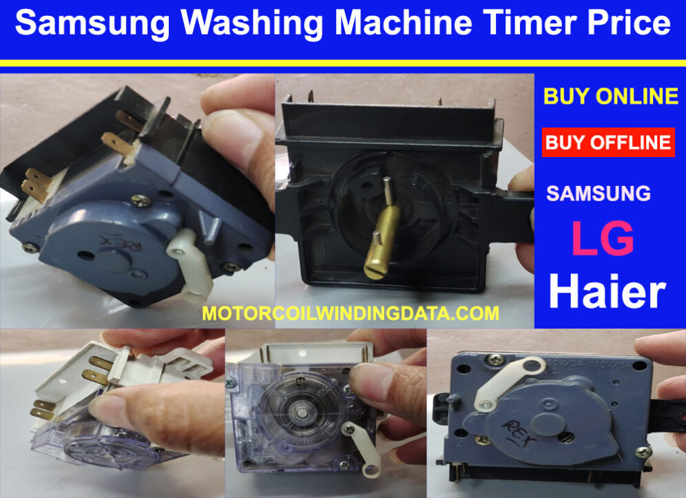 Samsung Washing Machine Timer Price Online.