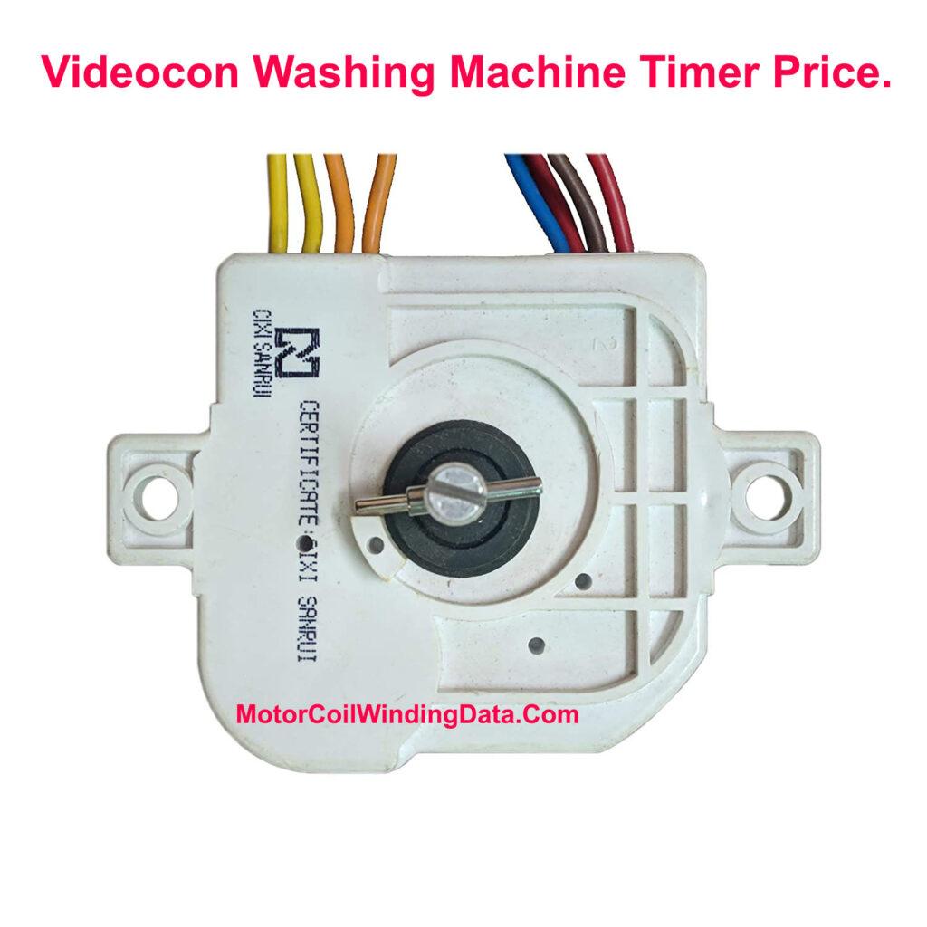 Videocon Washing Machine Timer Price.