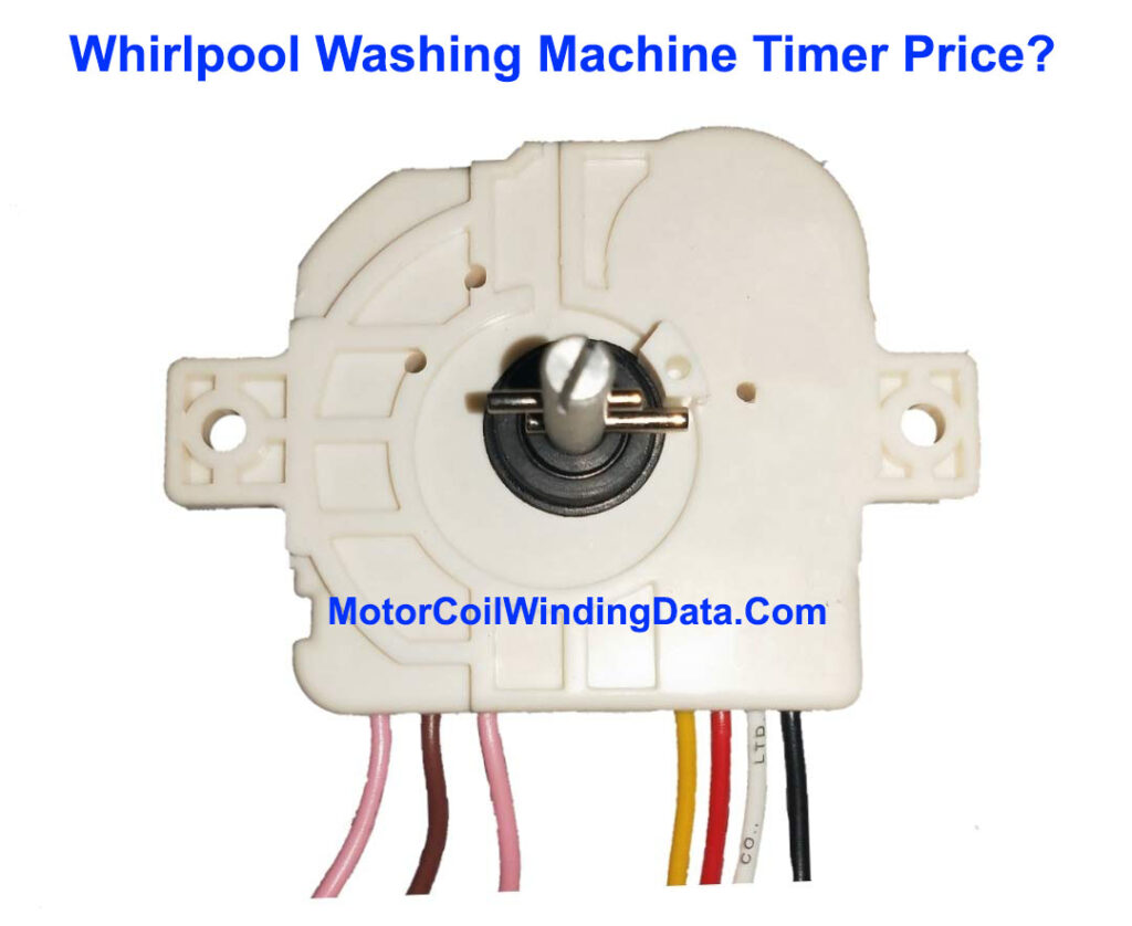 Whirlpool Washing Machine Timer Price?