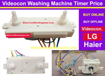 ideocon Washing Machine Timer Price. MotorCoilWindingData.Com