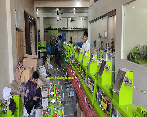 Automatic coil winding machine by kisan engg